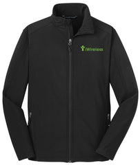 iWireless TALL Core Soft Shell Jacket (Mens)