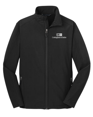 C&B Port Authority Core Soft Shell Jacket (Mens)