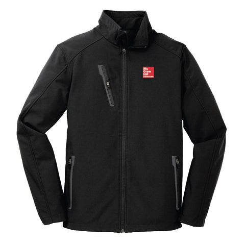McGraw-Hill Welded Soft Shell Jacket (Men's) - J324