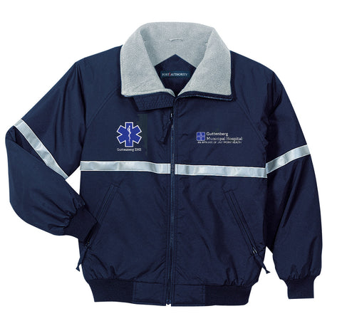 Guttenberg Municipal Hospital EMS - Challenger Jacket with Reflective Taping (Men's) - J754R