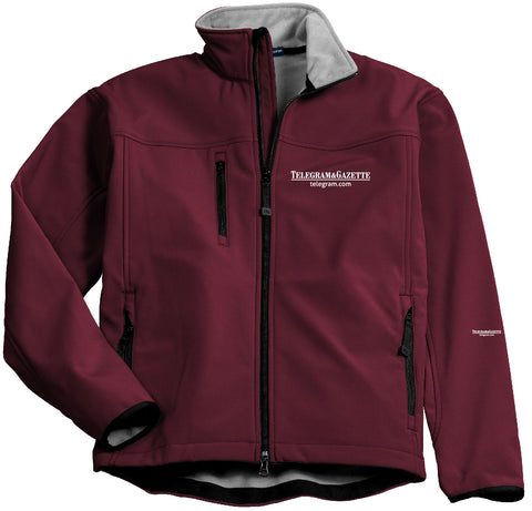 Telegram Port Authority Glacier Soft Shell Jacket (Mens)