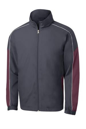 Camp Courageous Sport-Tek Piped Colorblock Wind Jacket - JST61