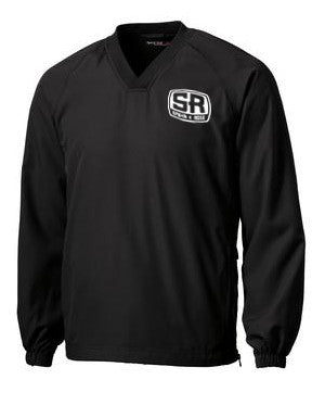 Spahn & Rose Sport-Tek V-Neck Raglan Wind Shirt