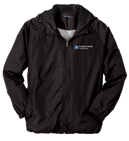 UnityPoint Health Sport-Tek Hooded Raglan Jacket (Men's)