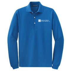 SPMB Port Authority Long Sleeve Polo (Mens)