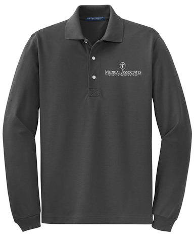 Medical Assoc. Port Authority Long Sleeve Polo (Mens)