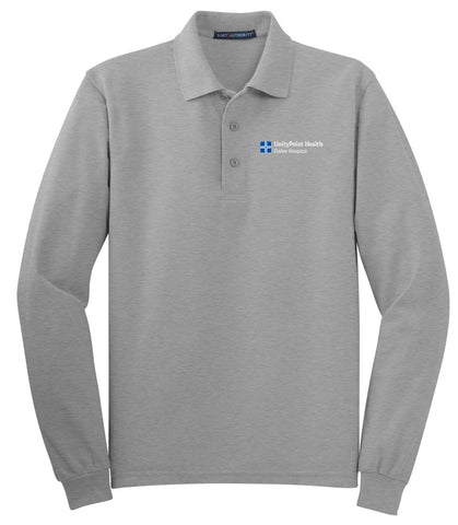 UnityPoint Health Port Authority Long Sleeve Polo (Men's)
