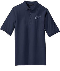Catholic Charities Port Authority Silk Touch Pocket Polo (Men's)