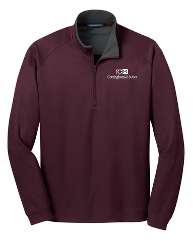 C&B Port Authority Heavyweight 1/4-Zip (Mens)