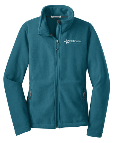 Platinum Port Authority Fleece Jacket (Ladies')