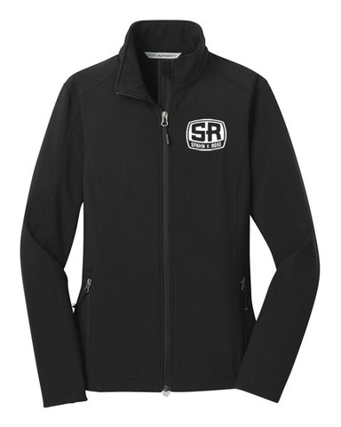S&R Women's Soft Shell Jacket (Black)
