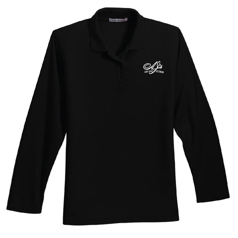 Hartig Drug Port Authority Long Sleeve Silk Touch Polo (Ladies)