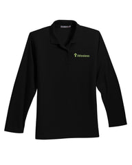 iWireless Ladies Long Sleeve Polo (Ladies)
