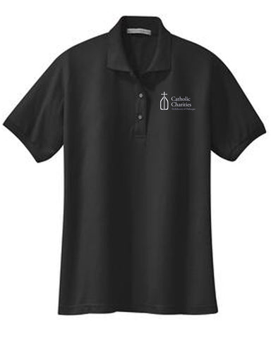 Catholic Charities Silk Touch Polo (Ladies)