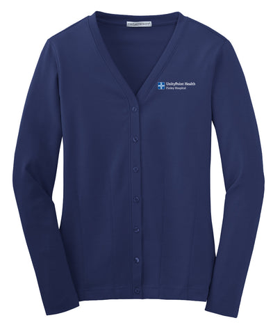 UnityPoint Health Cotton Cardigan (Ladies)