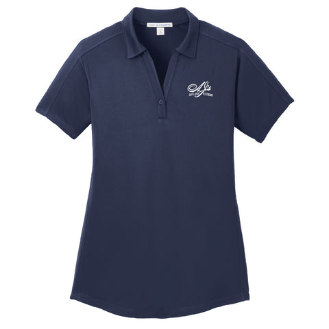 Hartig Drug Port Authority® Diamond Jacquard Polo. (Ladies)