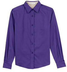 Mercy Family Pharmacy Port Authority Long Sleeve Easy Care Shirt (Ladies)