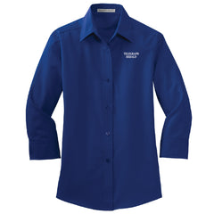TH Media Port Authority 3/4-Sleeve Easy Care Shirt (Ladies) - L612