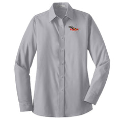 RT&T Long Sleeve Value Poplin Shirt (Ladies)