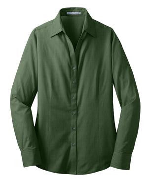 American Trust Easy Care Cross Hatch Shirt (Ladies) - L640
