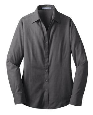 Kunkel & Associates Easy Care Cross Hatch Shirt (Ladies) - L640