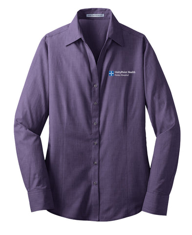 UnityPoint Health Easy Care Cross Hatch Shirt (Ladies)
