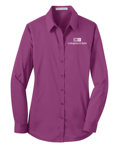 C&B Port Authority Stretch Poplin (Ladies)