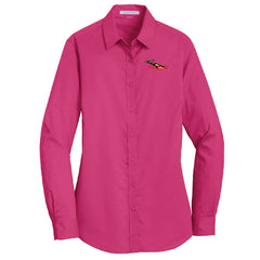 RT&T SuperPro Long Sleeve Twill Shirt (Ladies)