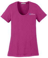Guttenberg Municipal Hospital Concept Scoop Stretch Tee (Ladies) - LM1006
