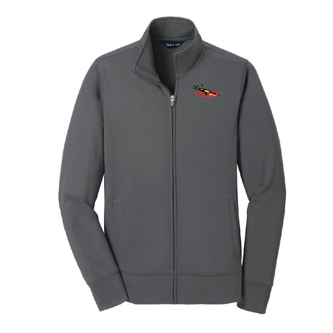 RT&T Sport-Wick Fleece Full-Zip Jacket (Ladies) - LST241