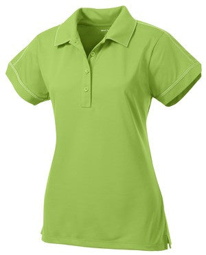 Fidelity Bank Contrast Stitch Micropique Sport Wick Polo (Ladies)