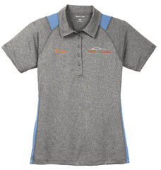 Pro-Clean Sport-Tek Ladies Heather Colorblock Contender Polo (for cashiers)