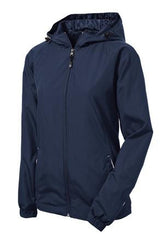 Camp Courageous Sport-Tek® Ladies Colorblock Hooded Jacket - LST76