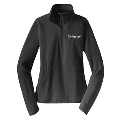 Cartegraph Sport-Tek® Sport-Wick® Stretch 1/2-Zip Pullover (LADIES)