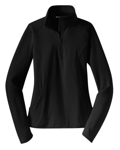 DuTrac Sport-Tek Sport-Wick Stretch 1/2-Zip Pullover (Ladies)