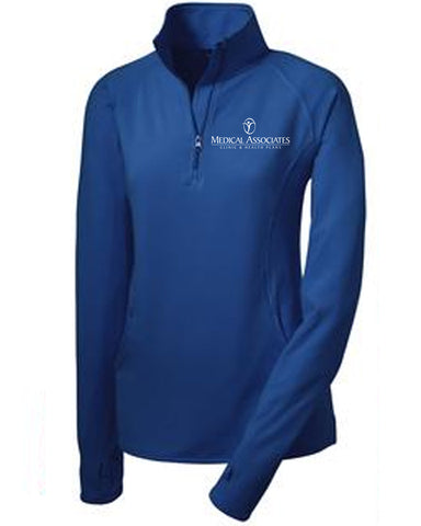 Medical Assoc. Sport-Tek Stretch 1/2-Zip Pullover (Ladies')
