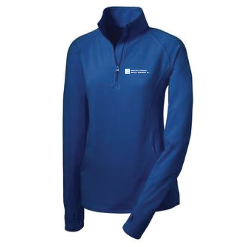 SPMB Sport-Tek Stretch 1/2-Zip Pullover (Ladies')