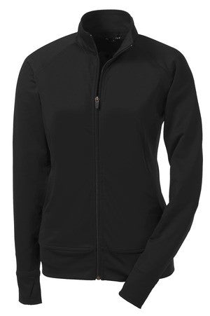 American Trust Sport-Tek Ladies Full Zip NRG Fitness Jacket (Ladies) - LST885
