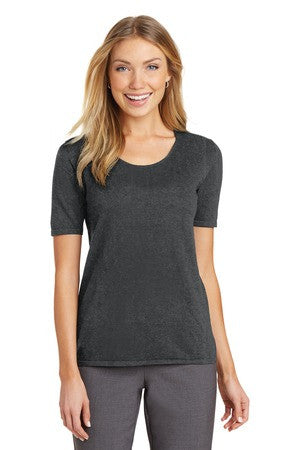 DuTrac Port Authority Ladies Scoop Neck Sweater (Ladies)