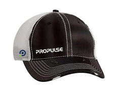 ProPulse Sportsman - Dirty-Washed Mesh Cap-3150 (Design A)
