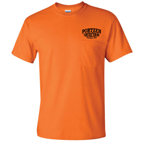 Portzen Construction Pocket T-shirt