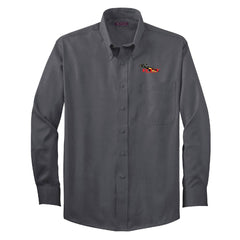 RT&T Red House Non-Iron Pinpoint Oxford (Men's)