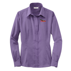RT&T Red House Non-Iron Pinpoint Oxford (Ladies)