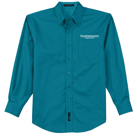 Telegram Port Authority Long Sleeve Easy Care Shirt (Men's)