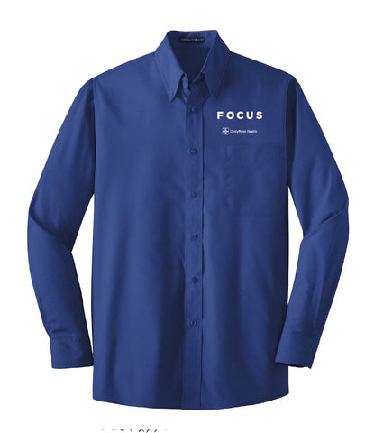 UnityPoint Health FOCUS Long Sleeve Value Poplin Shirt (Men's)