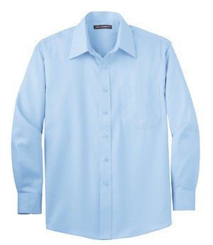 DuTrac Port Authority Long Sleeve Non-Iron Twill Shirt (Men's)