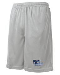 "Ruhl & Ruhl 9"" Mesh Pocket Shorts"