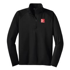 McGraw-Hill Sport-Tek Sport Wick Stretch 1/2 Zip Pullover (Men's) - ST850