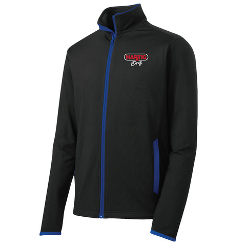 Hartig Drug Sport-Tek Contrast Full Zip Jacket (Men's)