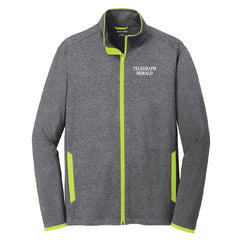 TH Media Sport-Wick® Stretch Contrast Full-Zip Jacket (Men's) - ST853
